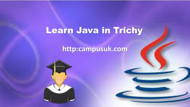 learn java in trichy