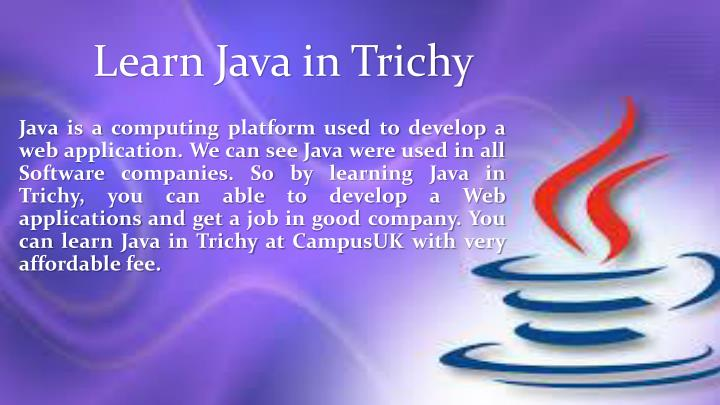 Learn java in trichy1
