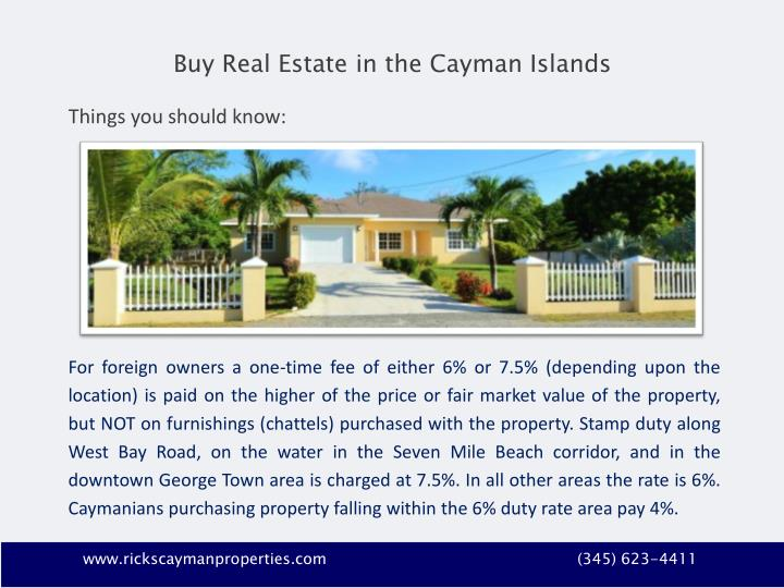 Buy Real Estate in the Cayman Islands