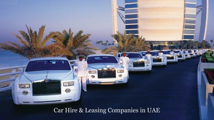 Car Hire & Leasing Companies in UAE