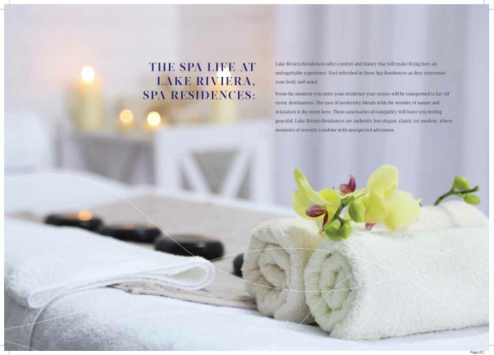 THE SPA LIFE AT