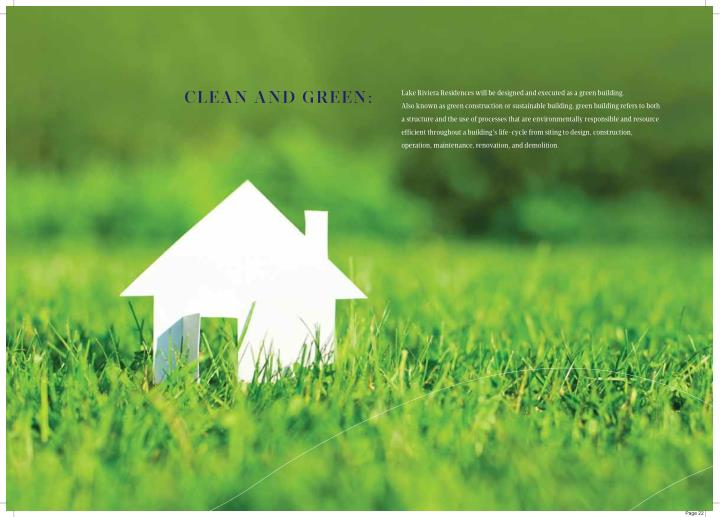 CLEAN AND GREEN: