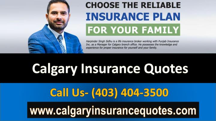 Calgary Insurance Quotes