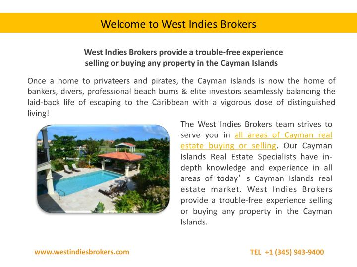 Welcome to West Indies Brokers