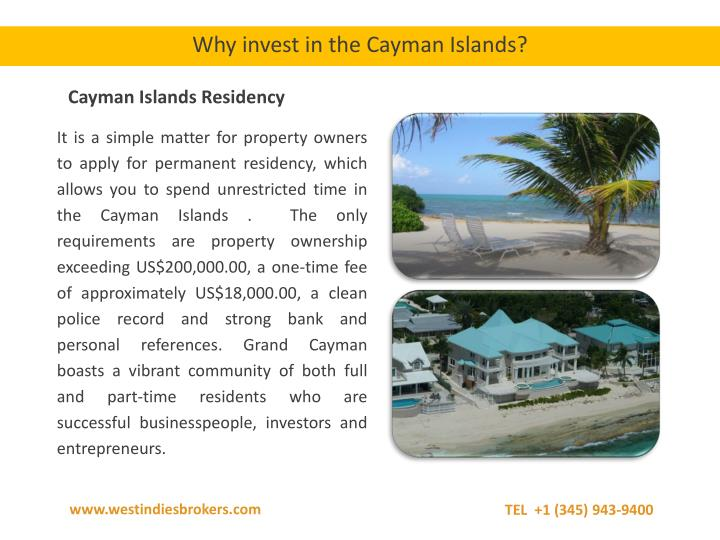 Why invest in the Cayman Islands?