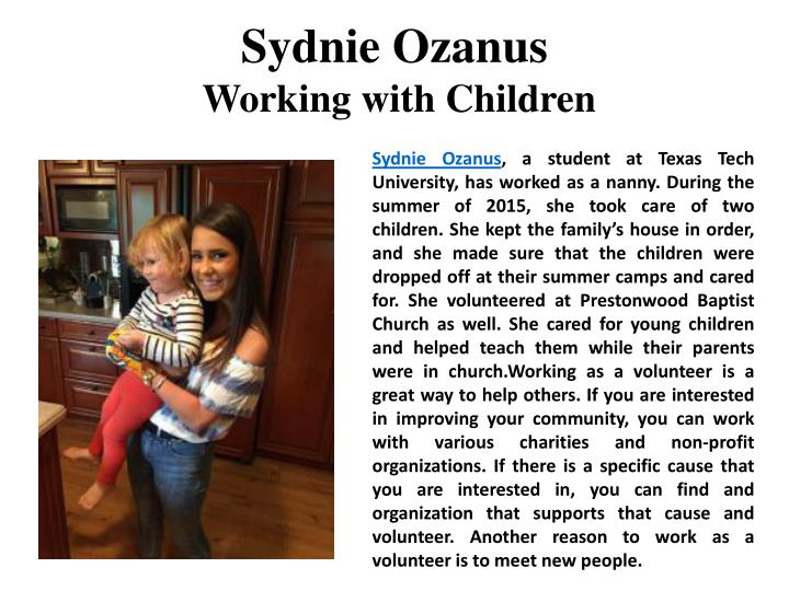 Sydnie Ozanus