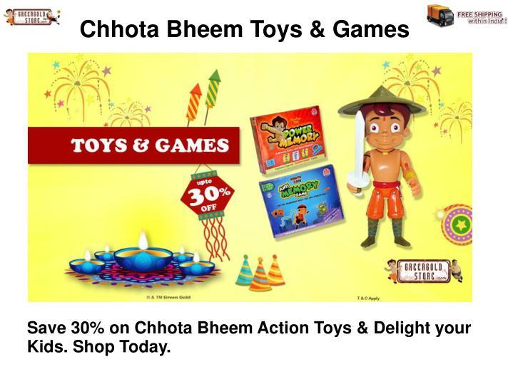 Chhota Bheem Toys & Games