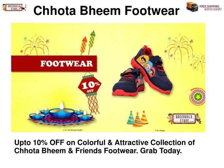 Chhota Bheem Footwear