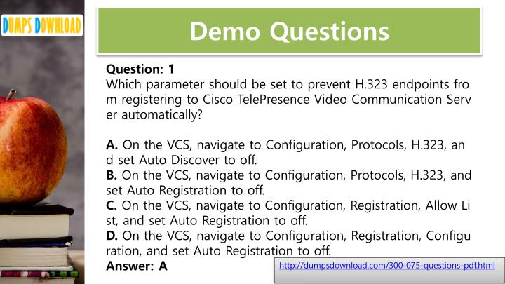 Demo Questions