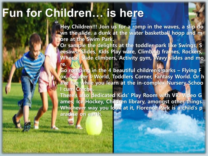 Fun for Children… is here