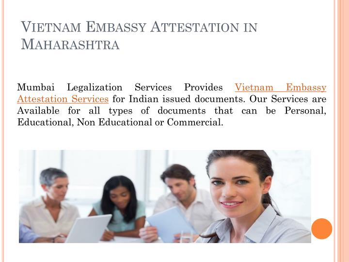 Vietnam embassy attestation in maharashtra