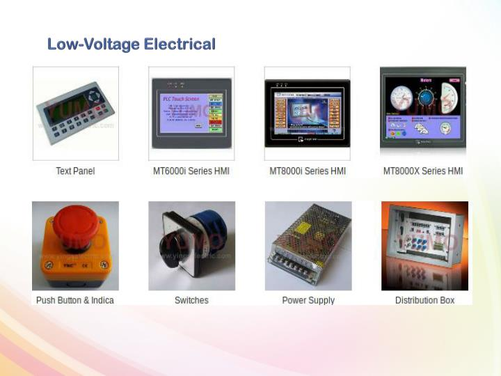 Low-Voltage Electrical