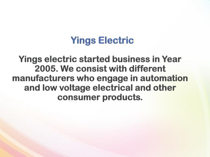 Y ings e lectric1