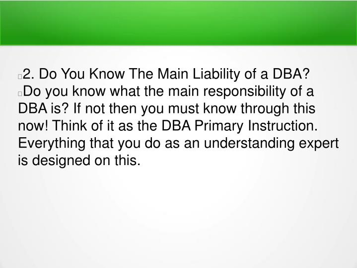 Top 10 dba interview questions 7424098
