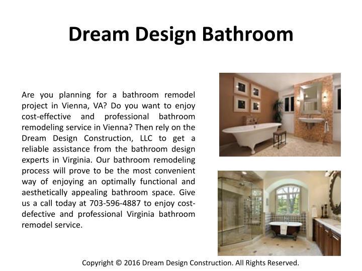 Dream Design Bathroom