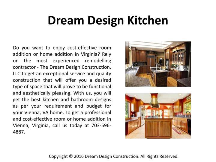 Dream Design Kitchen