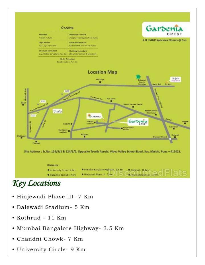 K Key Locations
