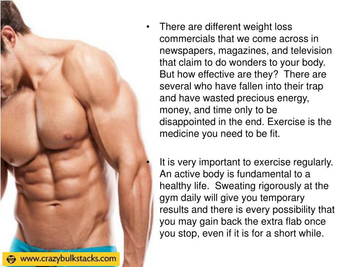 There are different weight loss commercials that we come across in newspapers, magazines, and televi...