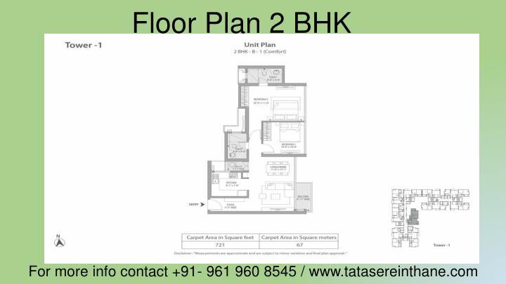 Floor Plan 2 BHK