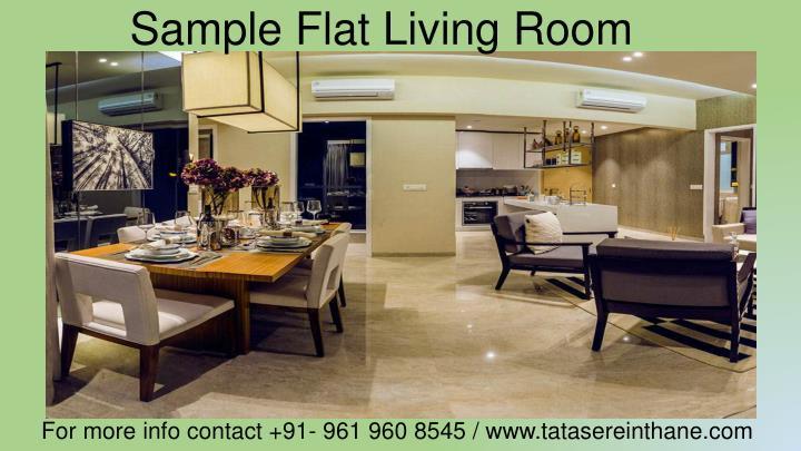 Sample Flat Living Room