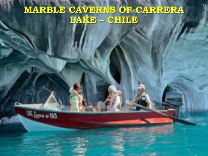 Marble Caverns of Carrera Lake – Chile