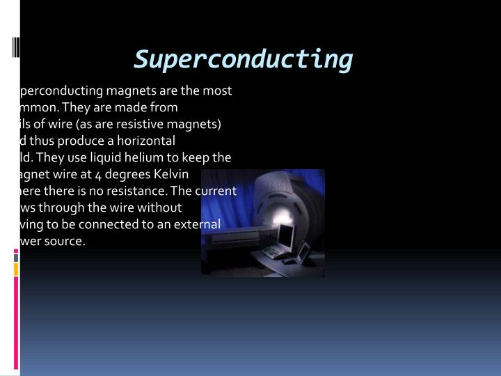 Superconducting