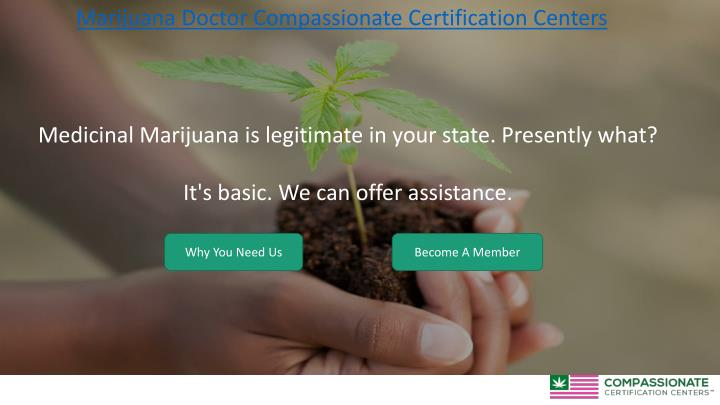 Marijuana Doctor Compassionate Certification