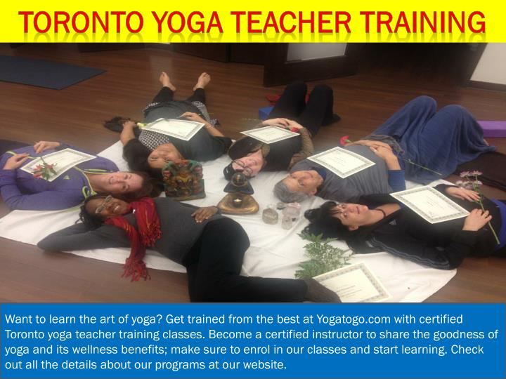 Toronto yoga teacher training