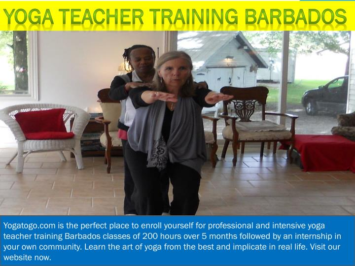 Yoga teacher training Barbados