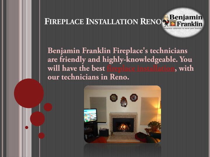 Fireplace installation reno