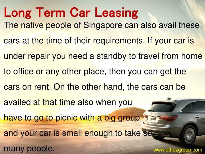 Long Term Car Leasing