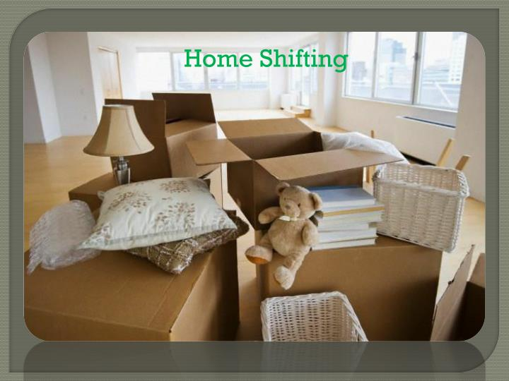 Home Shifting