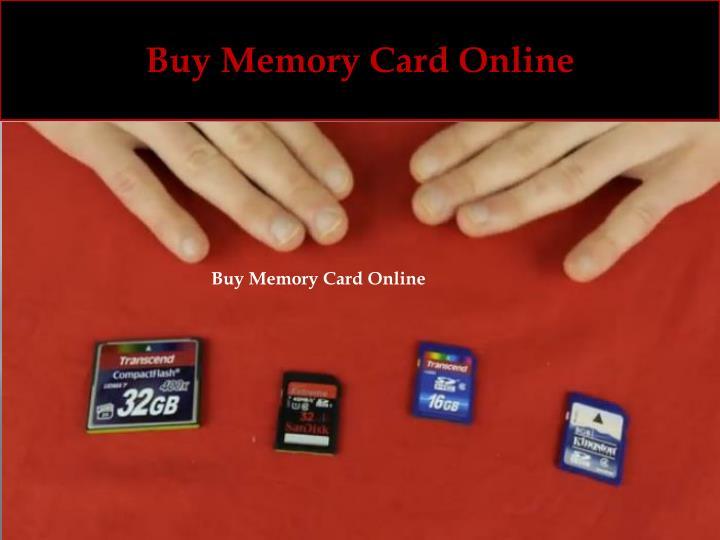 Buy Memory Card Online