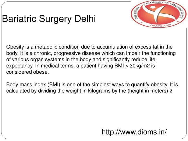 Bariatric Surgery Delhi