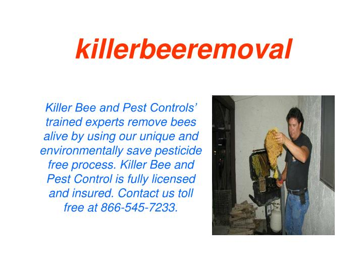 Killerbeeremoval
