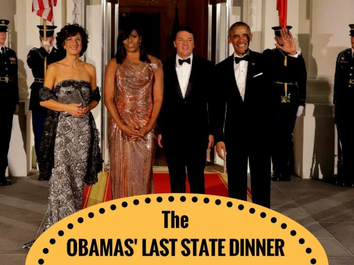 The obamas last state dinner