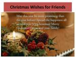 c hristmas wishes for friends