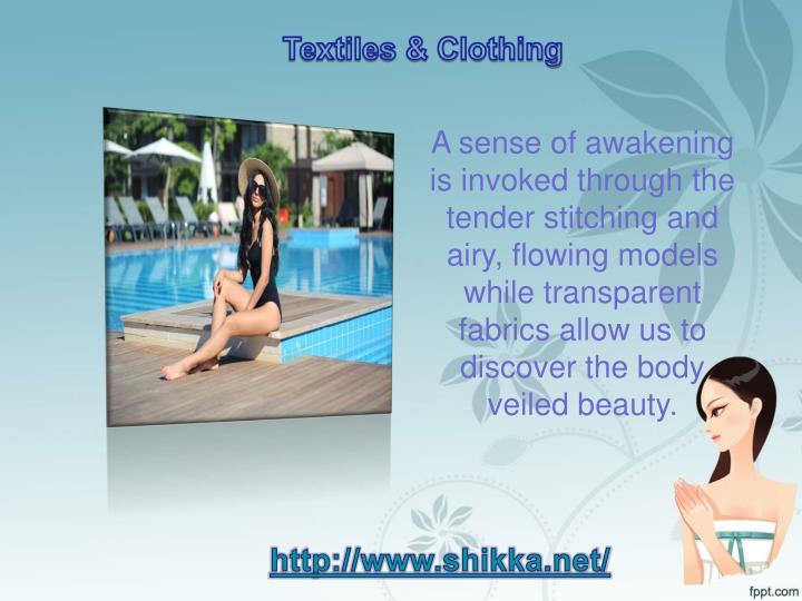Textiles & Clothing