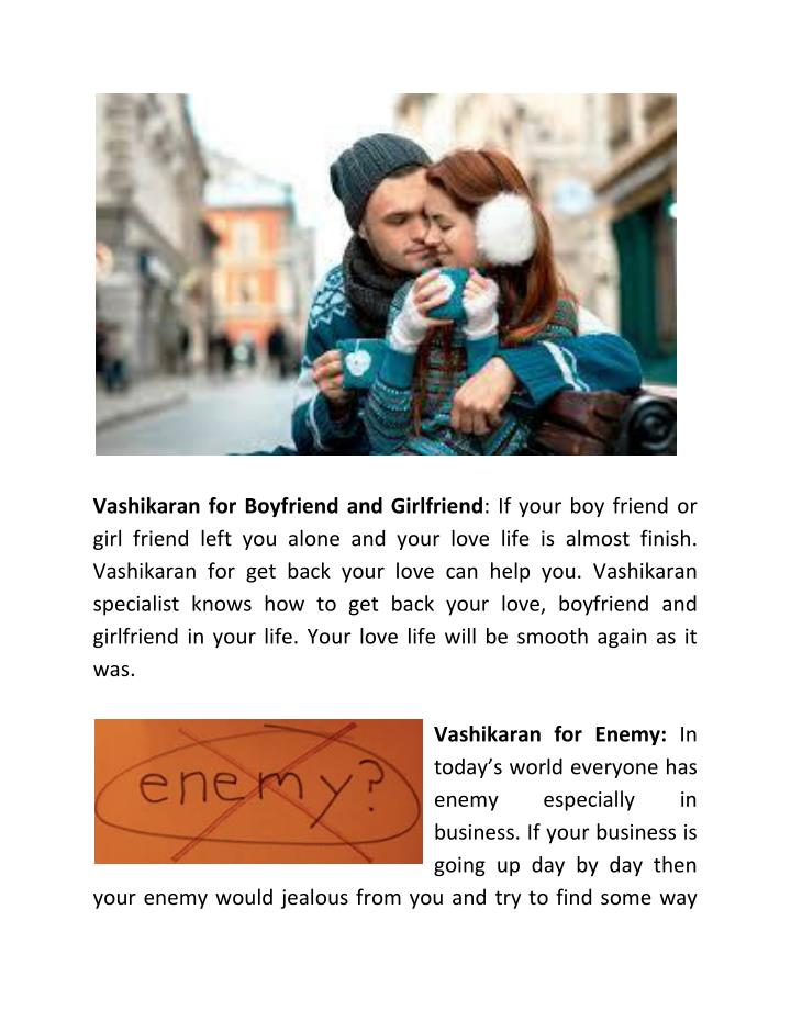 Vashikaran for Boyfriend and Girlfriend