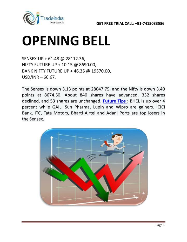 Opening bell