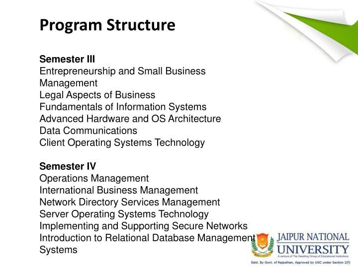 Program Structure