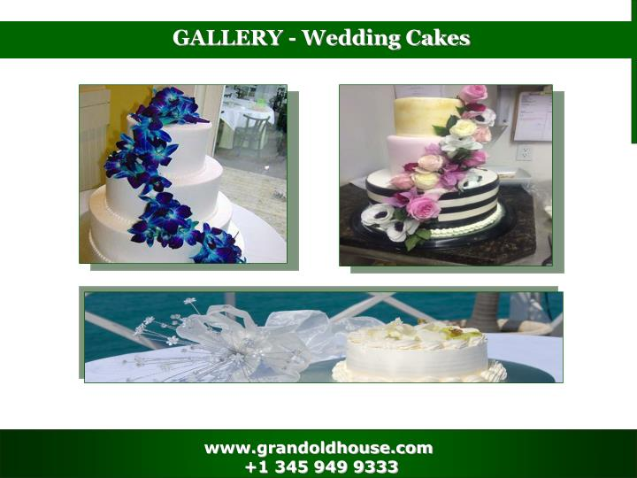 GALLERY - Wedding Cakes