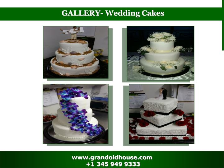 GALLERY- Wedding Cakes