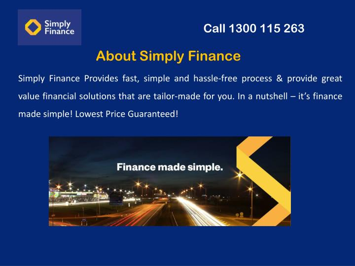 About simply finance