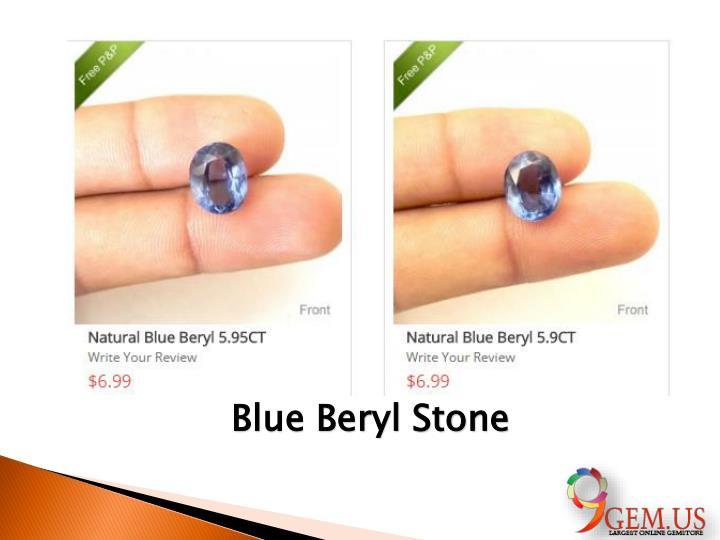 Blue Beryl Stone