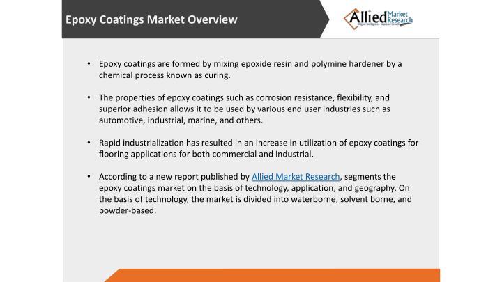 Epoxy Coatings Market