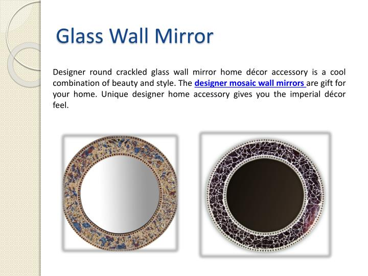 Glass Wall Mirror
