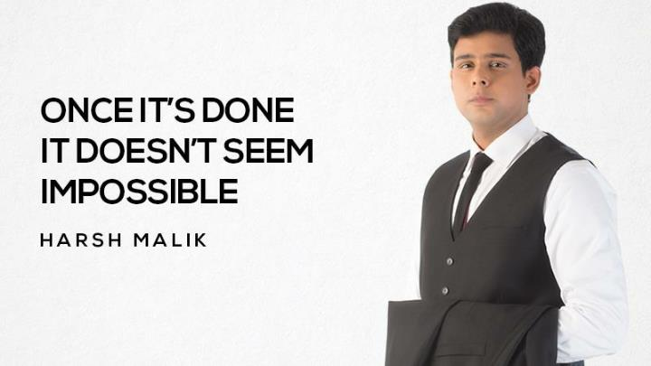 Inspirational success quotes by harsh malik