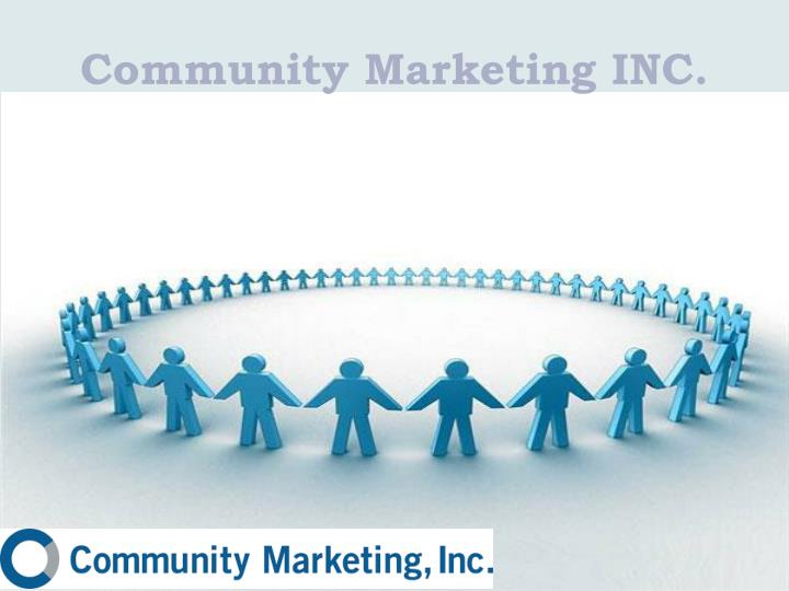Community marketing inc