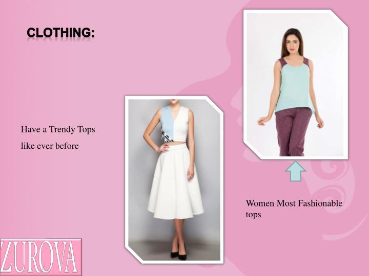 Clothing: